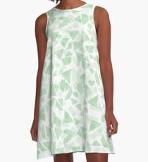 Seamless geometric pattern. Abstract background. A-Line Dress