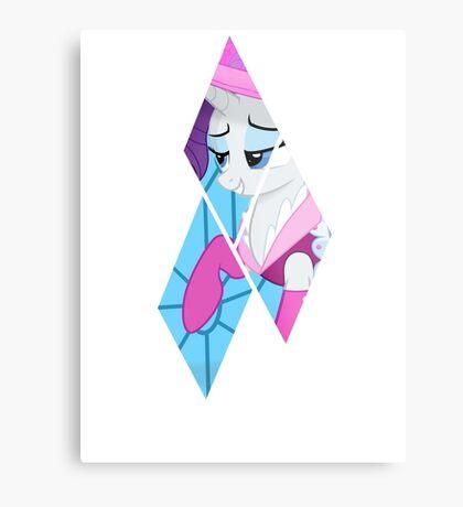 Diamond Pone Metal Print