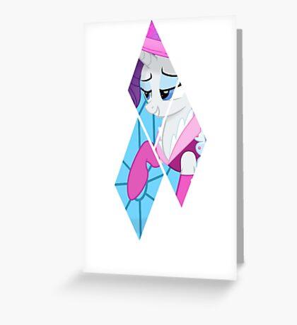 Diamond Pone Greeting Card