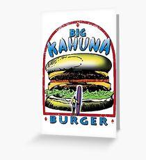 Classic Big Kahuna Burger Greeting Card