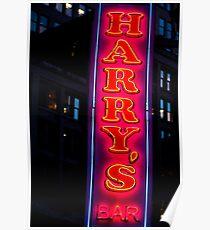 Póster Harry's Bar
