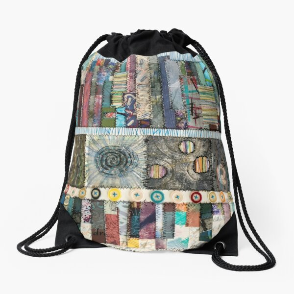 What Floats in Our Memories Drawstring Bag