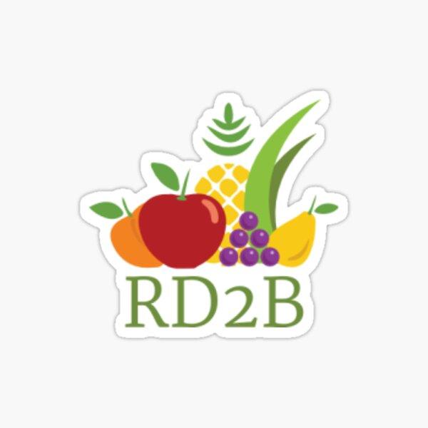 RD2B Pegatina