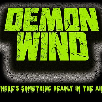 Demon Wind - Deadly Smell Horror T-Shirt by bestofbad