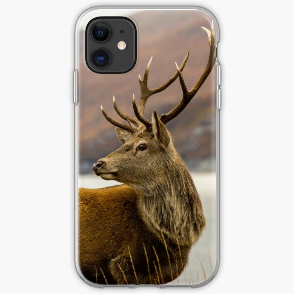 Autumnal Stag iPhone Soft Case