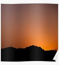 Sunrise - Ranthambore National Park Poster
