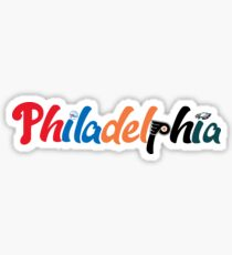Philadelphia Sport Sticker