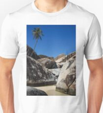 Boulders and Palm Trees Unisex T-Shirt
