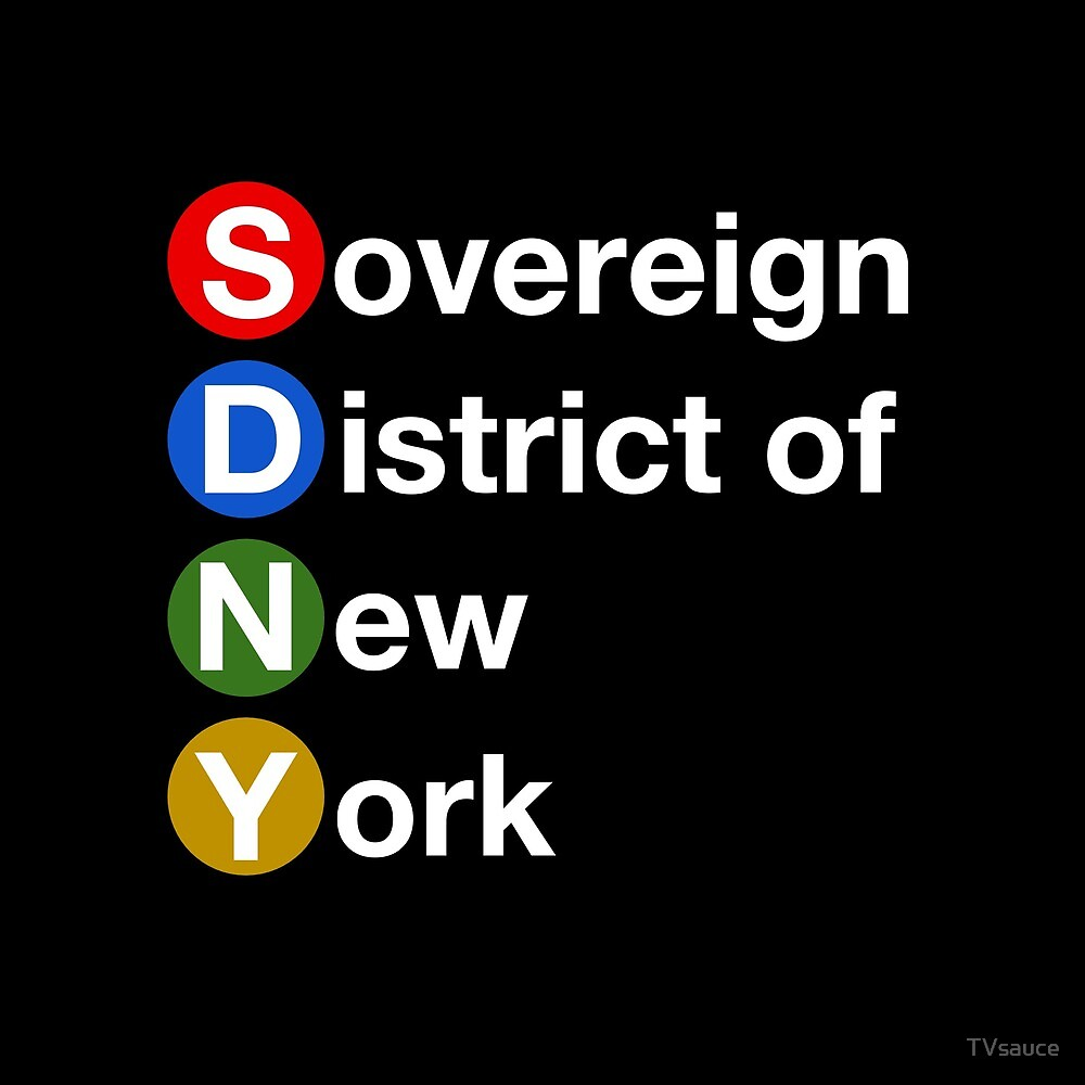 Sovereign District of New York by TVsauce
