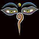 Mystical Buddha Eyes by BWBConcepts