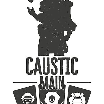 Apex Legends - Caustic Main de NinjaDesignInc