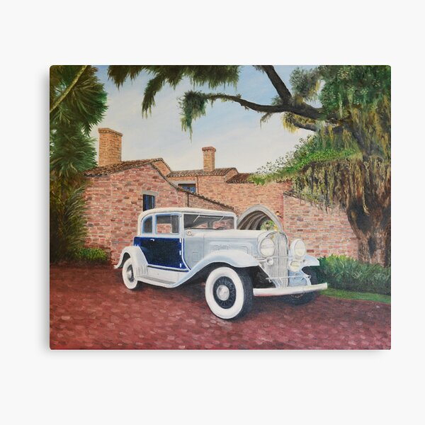 1939 Franklin Roadster Canvas Print