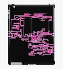 Vinilo o funda para iPad Super mapa de Metroid de Zebes - Gráficos originales