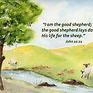 I AM the Good Shepherd: John 10:11 by Diane Hall