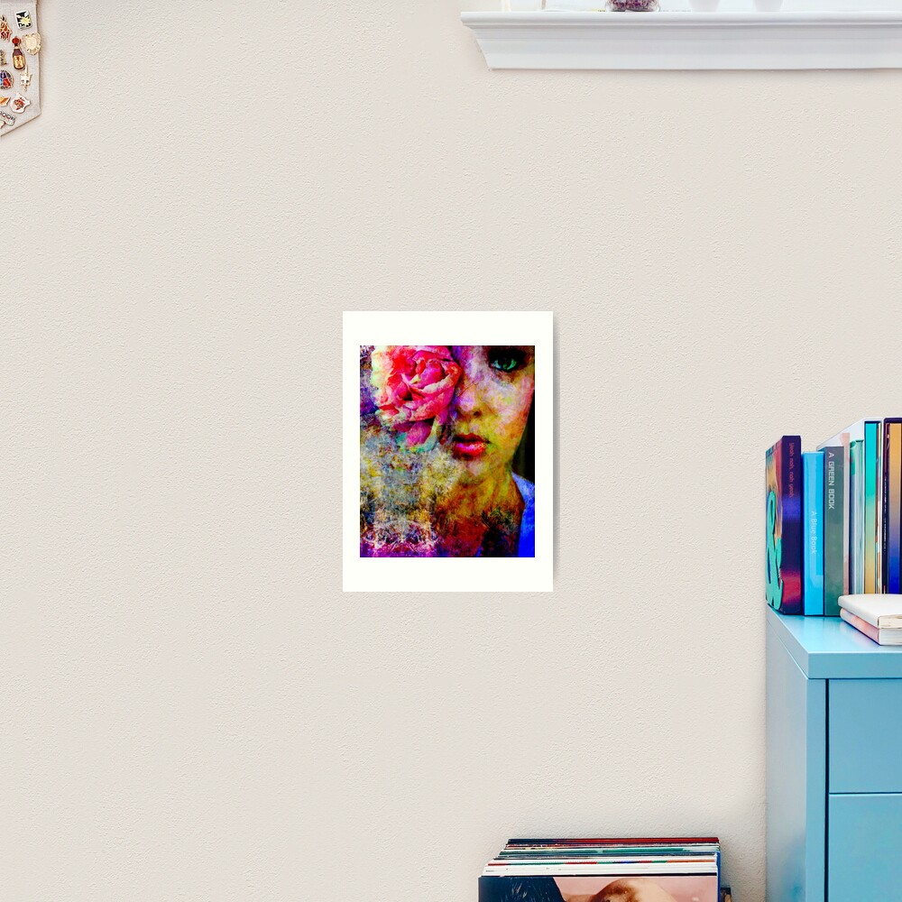Eye of the Bloom Art Print