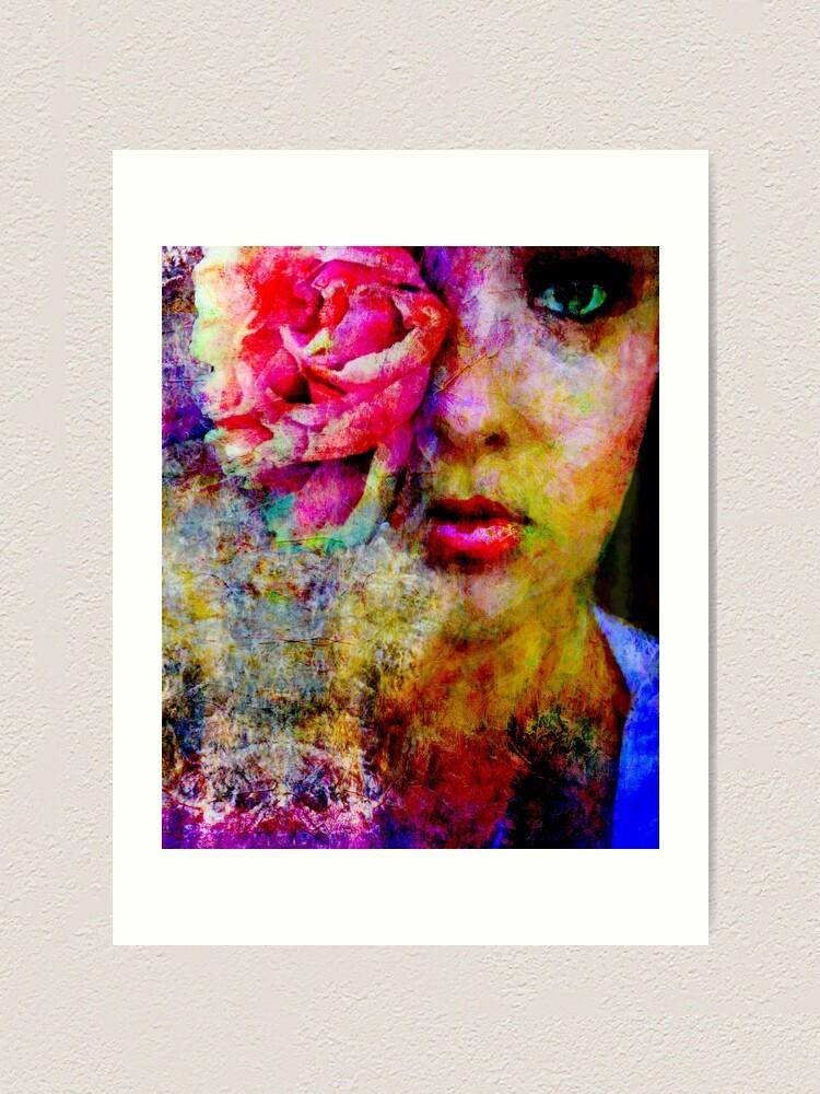 Alternate view of Eye of the Bloom Art Print