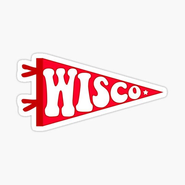 Wisco Pennant Sticker