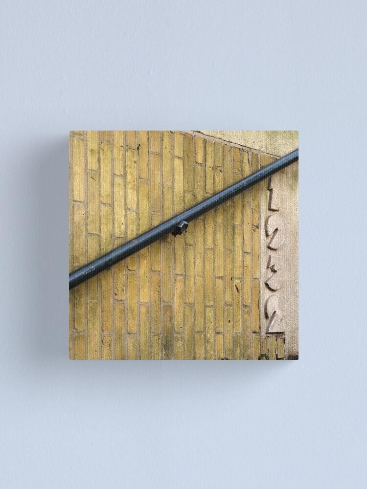 Alternate view of Beautiful brick - Erasmuspark entrance (1) Canvas Print