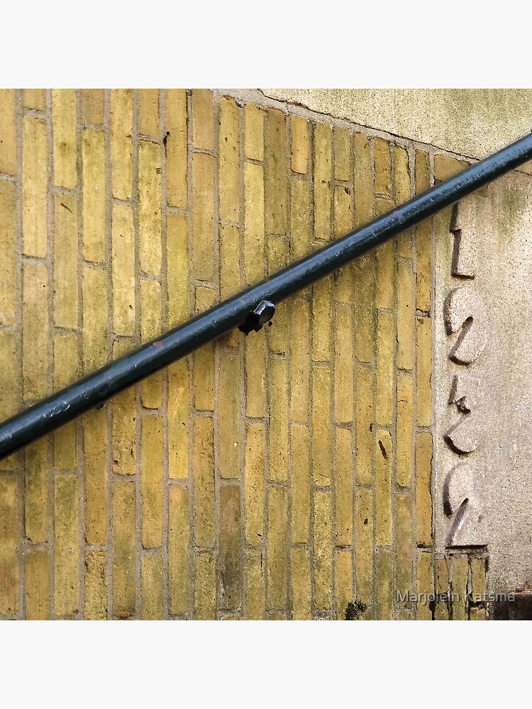 Beautiful brick - Erasmuspark entrance (1) by marjoleink