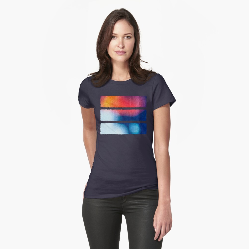 BLUR / Burning Ice Fitted T-Shirt