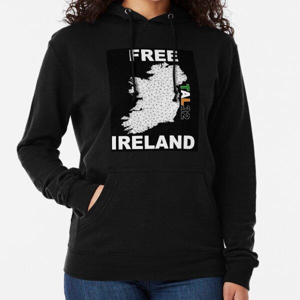 Irlanda libre Sudadera ligera con capucha