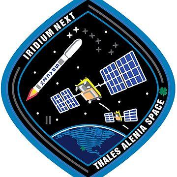 Iridium Next Launch 2 Patch by Spacestuffplus