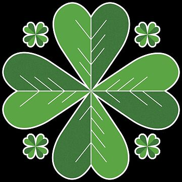 Happy Saint Patrick's Day Pinch Proof Yourself Green Clover Irish Pride by ThreadsNouveau