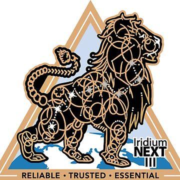 Iridium Next Launch 3 Logo by Spacestuffplus