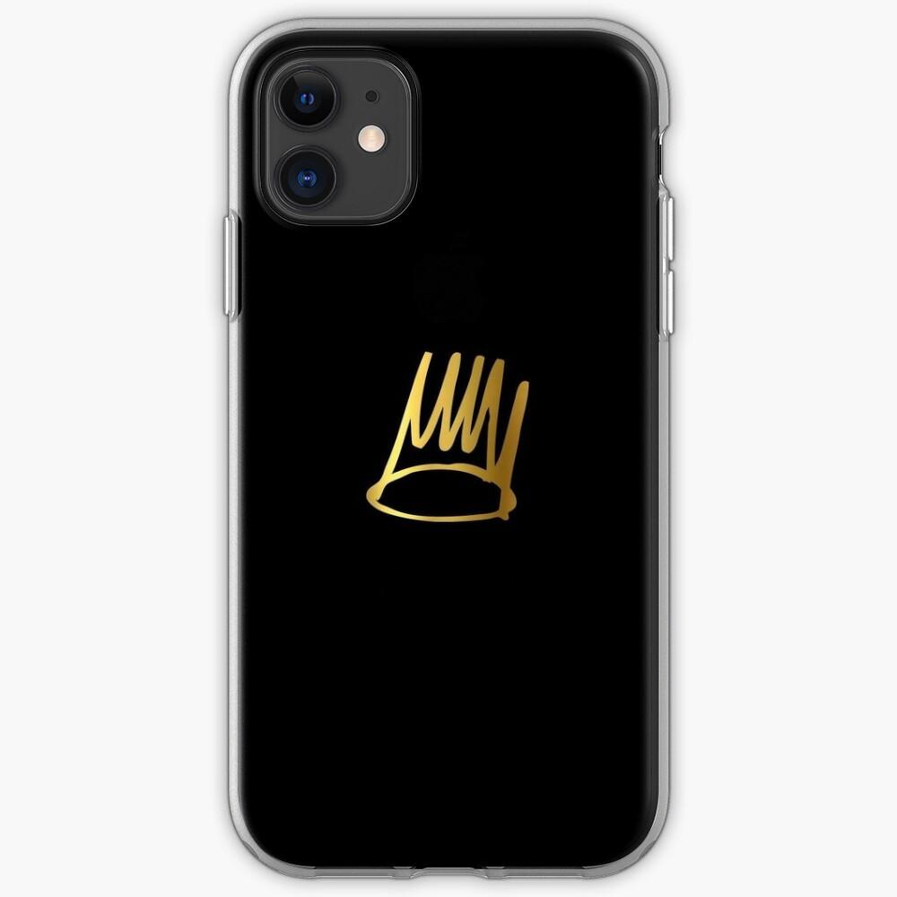 born sinner crown logo iphone case
