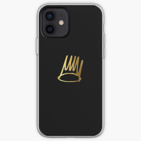 J.Cole Born Sinner Crown iPhone Soft Case