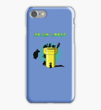 Lords Of The Drain  iPhone Case/Skin