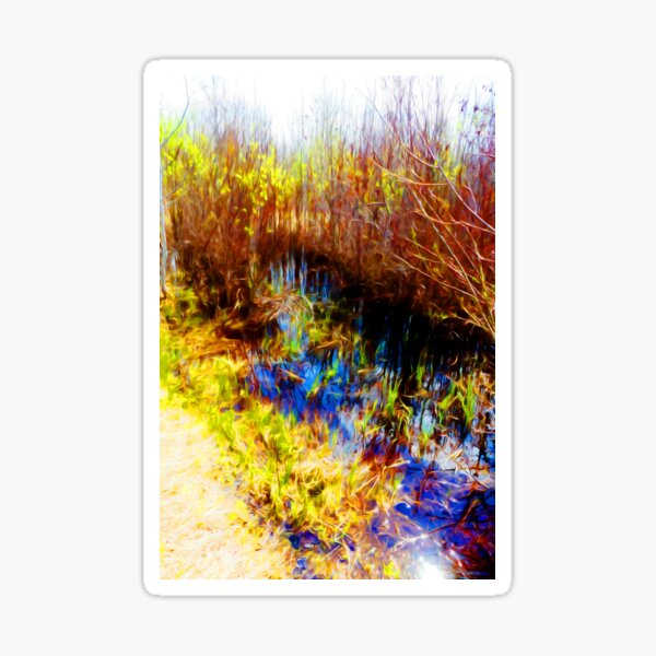 Marsh Sticker