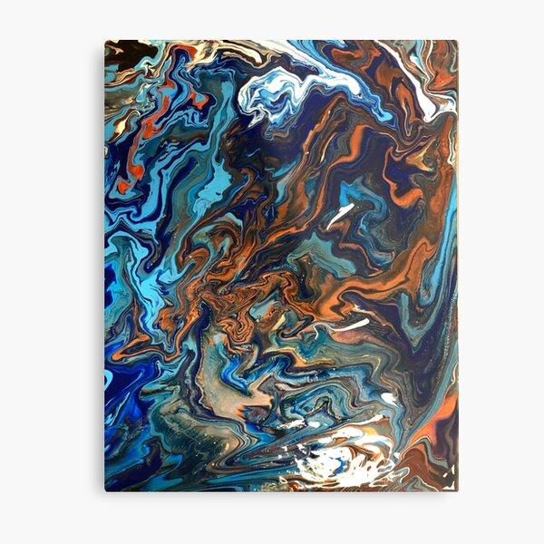 Copper River Metal Print
