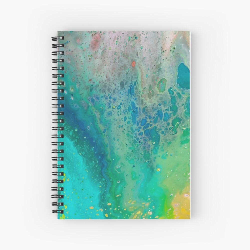 Geode Spiral Notebook