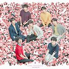 «BTS 2019 - Cartel de la gira Hable usted mismo / Tapiz de pared» de KpopTokens