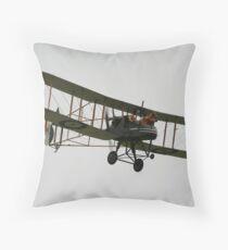 The Vintage Aviator new Zealand Throw Pillow