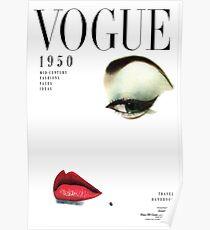 Vogue Covert Vintage Wall Art Poster