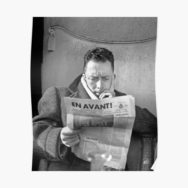 Tee-shirt Portrait Albert Camus Poster