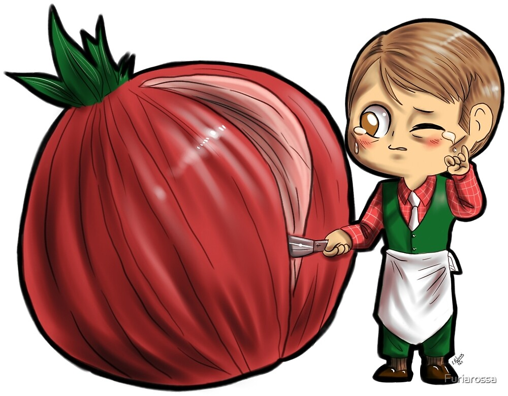 Hannibal vegetables - Onion by Furiarossa