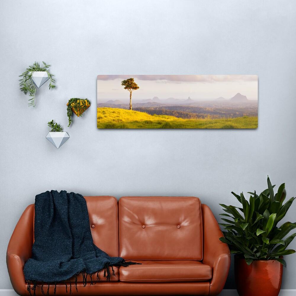 One Tree Hill, Glass House Mountains, Queensland, Australia Metal Print