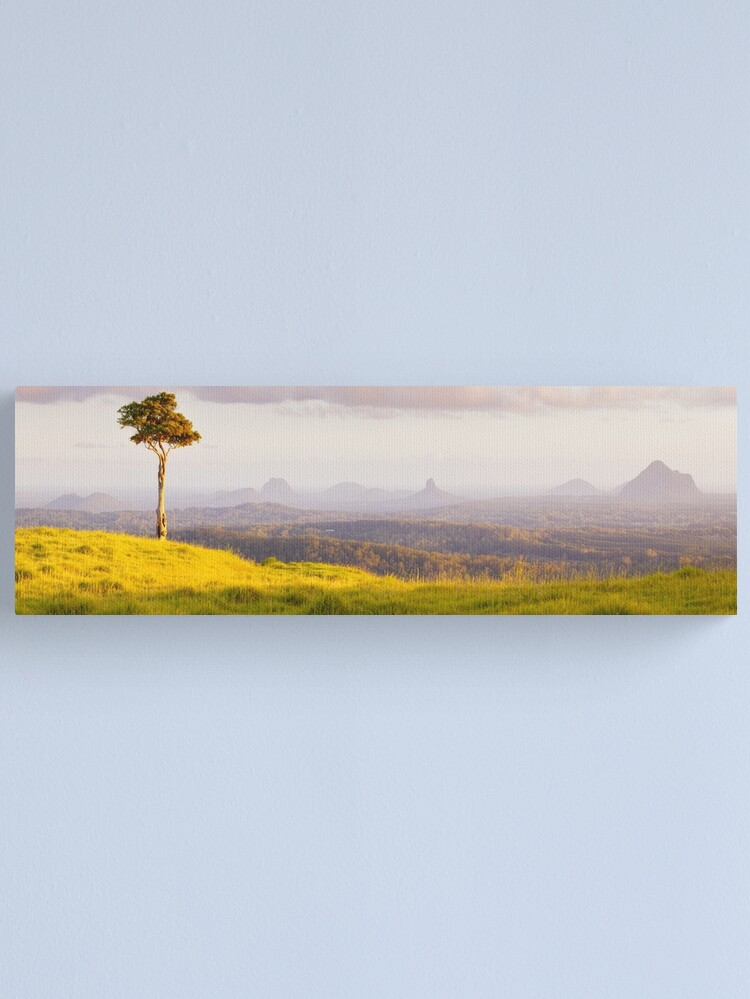 Alternate view of One Tree Hill, Glass House Mountains, Queensland, Australia Canvas Print
