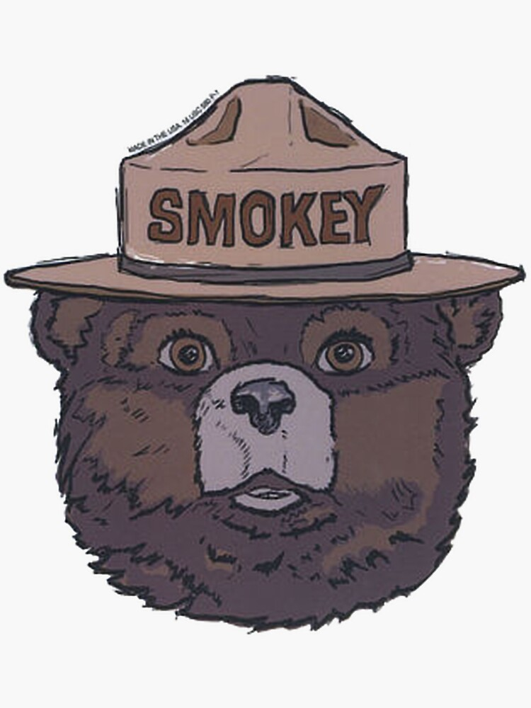 Smokey the Bear - Fire Prevention by basementworks