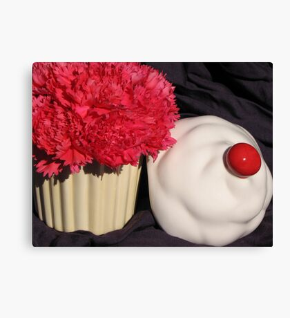 Birthday Cupcake Canvas Print