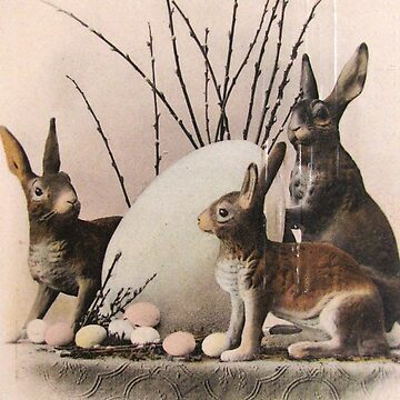 Happy Easter Bunnies by collageDP