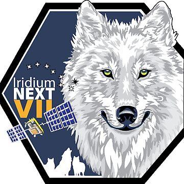 Iridium Next Launch 7 by Spacestuffplus