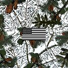 Hunting Snow Camouflage Flag by MilitaryCandA