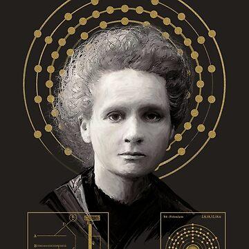Marie Sklodowska Curie V01 von Lidra