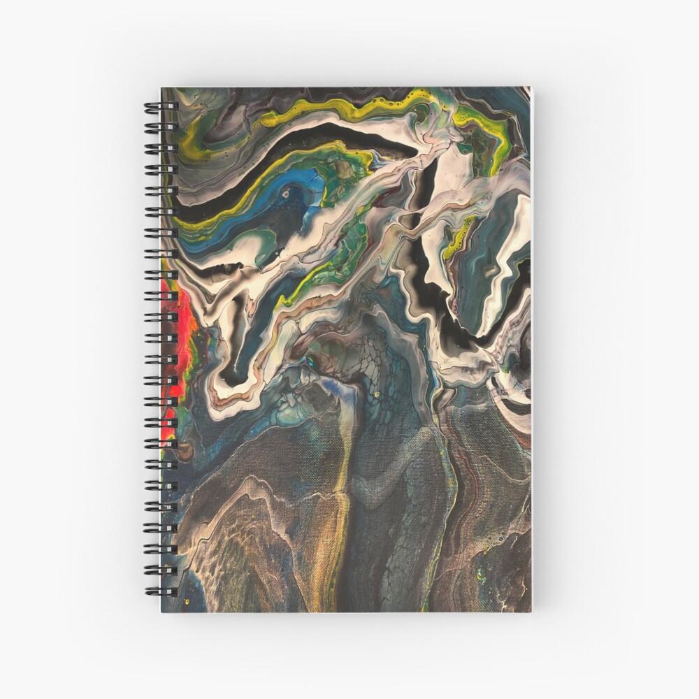 Heat Wave Spiral Notebook