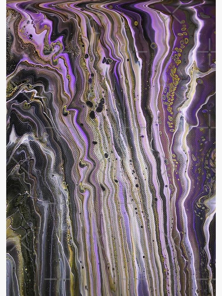 Purple Hive by AnaEdwardsArt