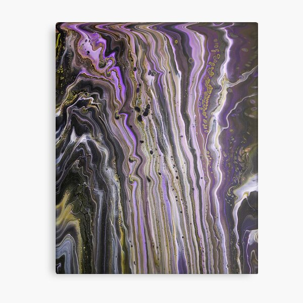 Purple Hive Metal Print